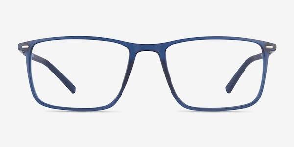 Simon Blue Plastic-metal Eyeglass Frames