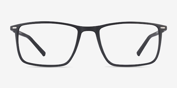 Simon Black Plastic-metal Eyeglass Frames