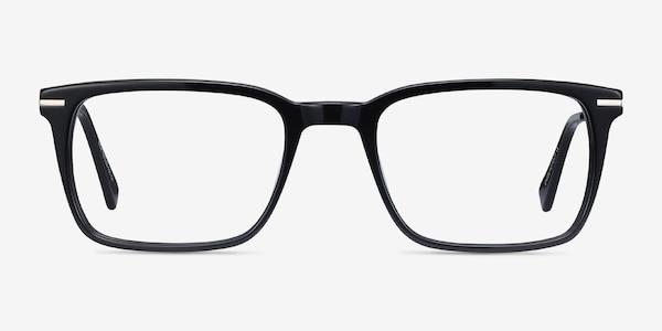 Nox Black Acetate-metal Eyeglass Frames