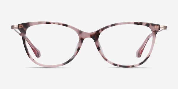 Idylle Pink Tortoise Acetate-metal Eyeglass Frames