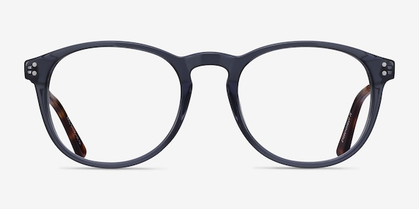 Akio Gray Acetate-metal Eyeglass Frames