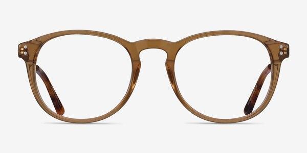 Akio Yellow Acetate-metal Eyeglass Frames