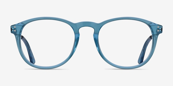 Akio Blue Acetate Eyeglass Frames