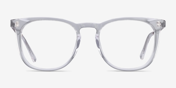 Vibes Clear Acetate-metal Eyeglass Frames