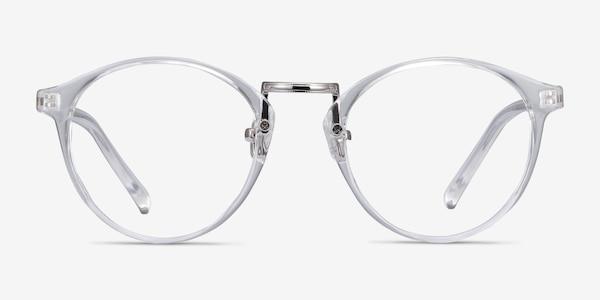 Small Chillax Clear Plastic-metal Eyeglass Frames