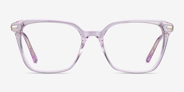 Dearly Purple Acetate-metal Eyeglass Frames