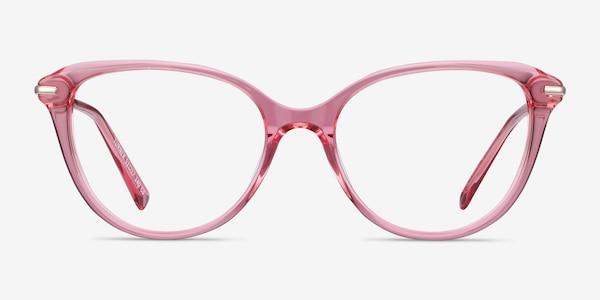 Turner Clear Pink Acetate-metal Eyeglass Frames