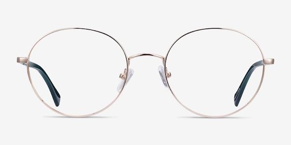 Thea Doré Acetate-metal Montures de lunettes de vue
