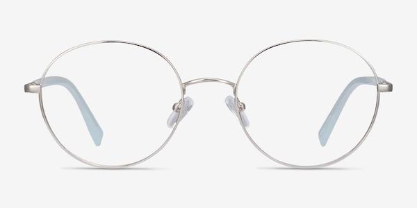 Thea Silver Acetate-metal Eyeglass Frames