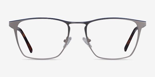 Jacob Gunmetal & Tortoise Acetate-metal Eyeglass Frames