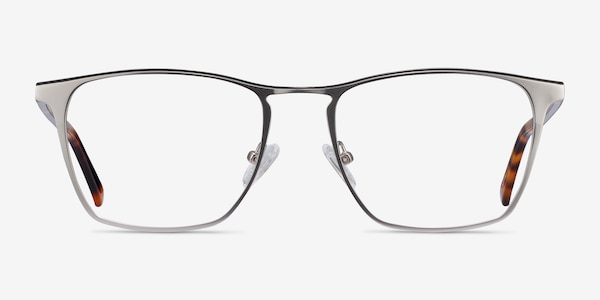 Jacob Silver & Tortoise Acetate-metal Eyeglass Frames