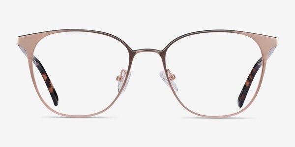 Azimut Rose Gold Acetate-metal Eyeglass Frames