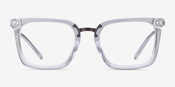 Poise Clear Acetate-metal Eyeglass Frames