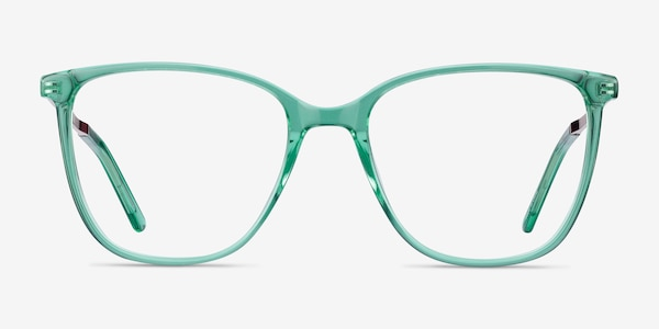 Aroma Emerald Green Acetate-metal Eyeglass Frames