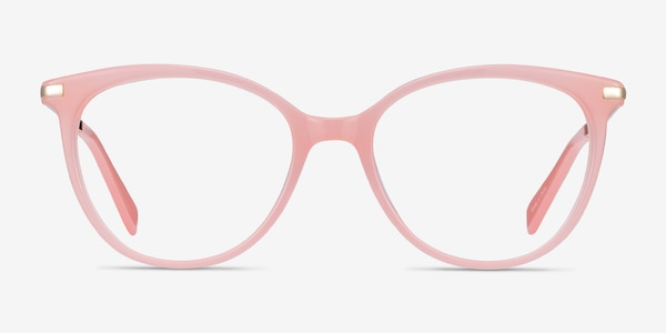 Attitude Coral Acetate-metal Eyeglass Frames