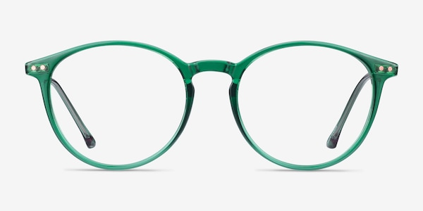 Amity Emerald Green Plastic-metal Eyeglass Frames