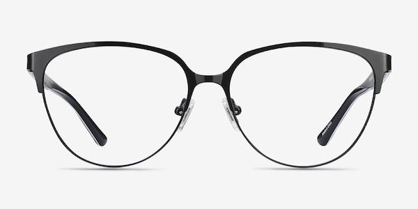Marigold Black & Leopard Acetate-metal Eyeglass Frames