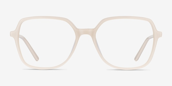 Lenny Cream Acetate-metal Eyeglass Frames