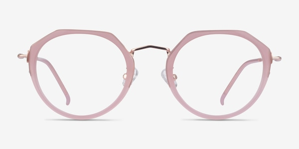Claire Pink  Rose Gold Acétate Montures de Lunette de vue