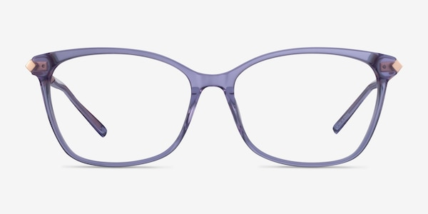 Ashley Violet Acetate-metal Montures de Lunette de vue