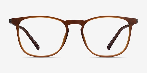 Avery Brown Plastic-metal Eyeglass Frames