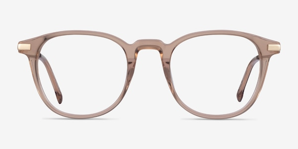 Giverny Clear Brown Acetate Eyeglass Frames