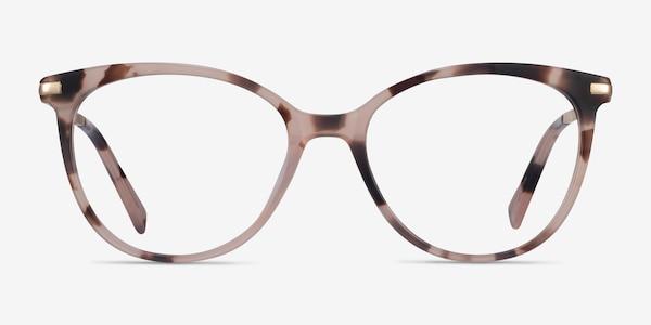 Attitude Pink Ivory Tortoise Acetate Eyeglass Frames