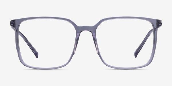 Easton Clear Gray Acetate-metal Montures de Lunette de vue