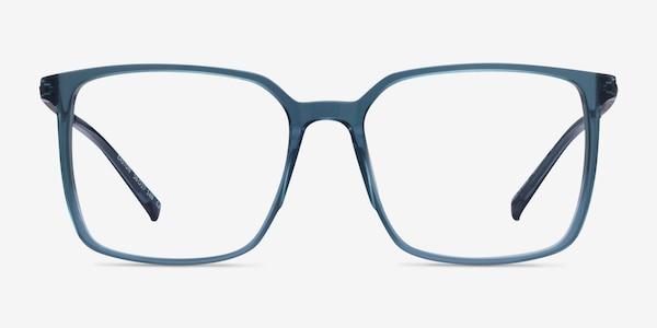 Easton Clear Blue Acetate-metal Montures de Lunette de vue