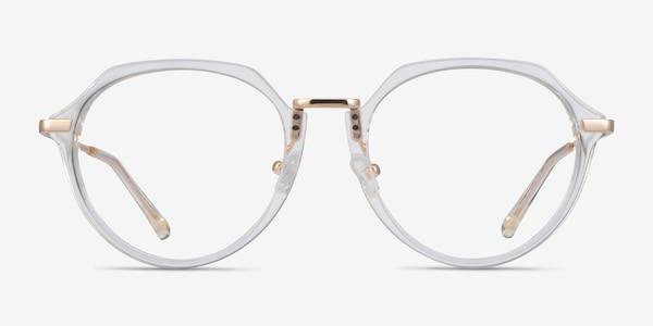 Tamara Clear Yellow Acetate Eyeglass Frames