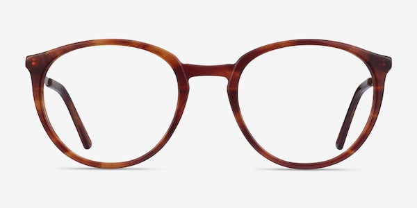 Mindful Tortoise Bronze Acetate Eyeglass Frames