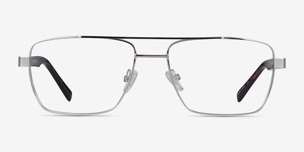 Colton Silver, Clear Blue & Tortoise Acetate Eyeglass Frames