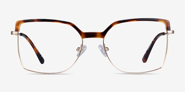 Further Tortoise & Gold Acetate-metal Eyeglass Frames