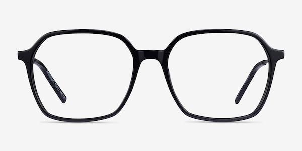 Modernity Black Silver Acetate Eyeglass Frames