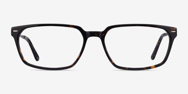 Fusion Tortoise Silver Acetate Eyeglass Frames