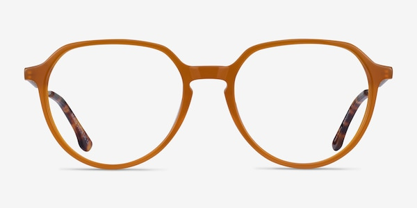 World Orange Acetate Eyeglass Frames