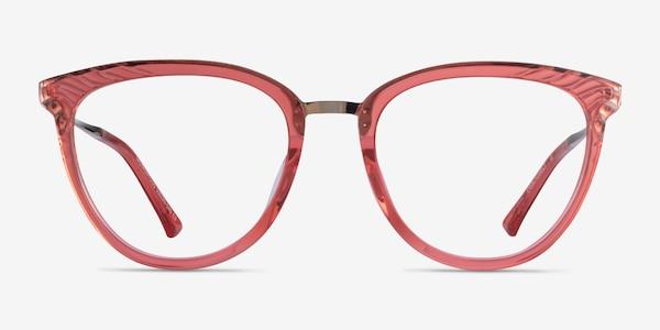 Momentous Clear Pink Acetate Eyeglass Frames