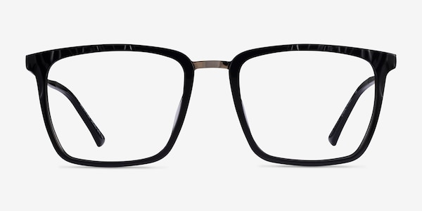 Metaphor Black Acetate Eyeglass Frames