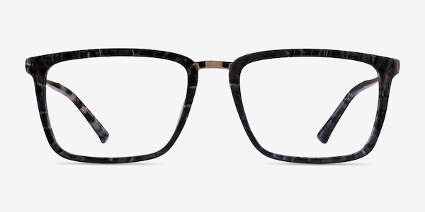 Volume Dark Tortoise Acetate Eyeglass Frames