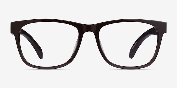 Reserve Brown & Dark Wood Wood-texture Montures de lunettes de vue