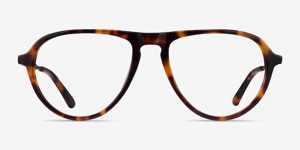 Stratosphere Tortoise Gunmetal Acetate Eyeglass Frames
