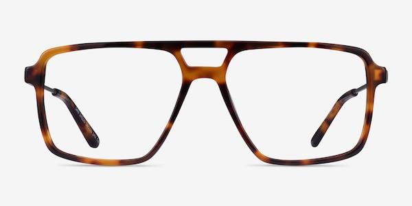 San Diego Tortoise Silver Acetate Eyeglass Frames