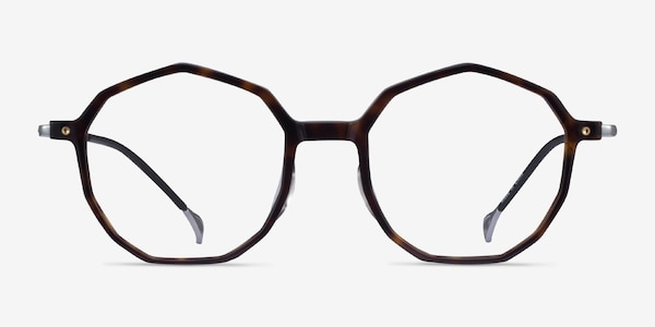 Carmelo Tortoise Silver Acetate Eyeglass Frames