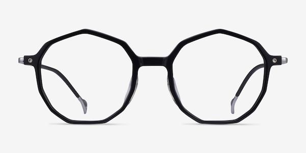 Carmelo Black Silver Acétate Montures de lunettes de vue