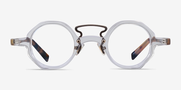 Very Clear Tortoise Acetate Eyeglass Frames