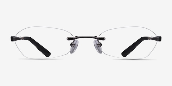 Summer Gunmetal Metal Eyeglass Frames