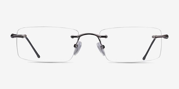 Pickering Gunmetal Metal Eyeglass Frames