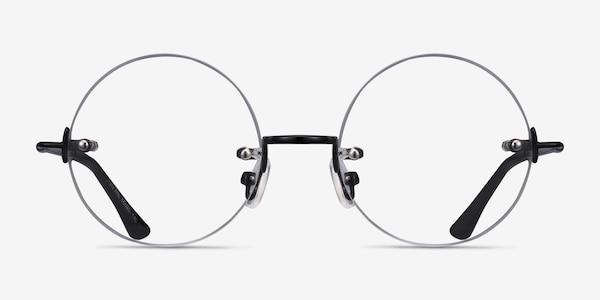 Palo Alto Black Metal Eyeglass Frames