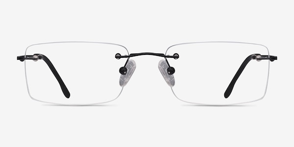Woodrow Black Metal Eyeglass Frames