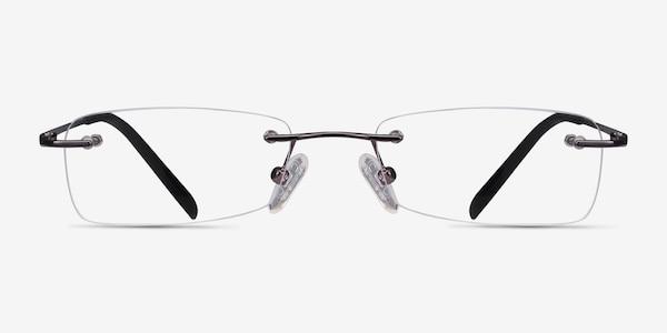 South  Gunmetal  Metal Eyeglass Frames